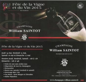 Flyer william saintot 2