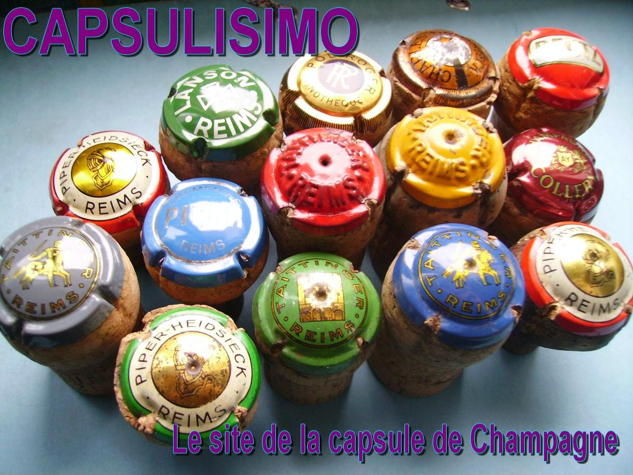 Le site de la capsule de Champagne