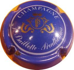 BAILLETTE-PRUDHOMME Bleu écusson Or  n°2