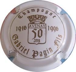 GABRIEL-PAGIN Fils  50Ans blanc et or