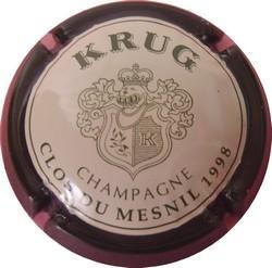 KRUG  Clos du Mesnil petit Ø 1998  n°53a