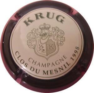 KRUG  Clos du Mesnil  1998 n°53
