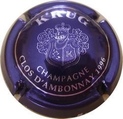 KRUG Clos d'Ambonnay 1996 n°55