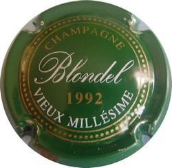 BLONDEL Vieux Millésime 1992 n°15