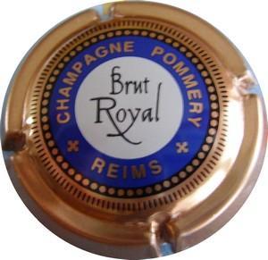 Jéro POMMERY Brut royal Bleu 80c