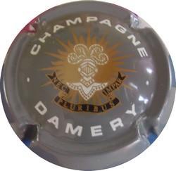 J De TELMONT  Champagne Damery  n°6