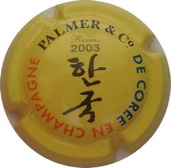 PALMER  cuvée Corée 2003 n°15