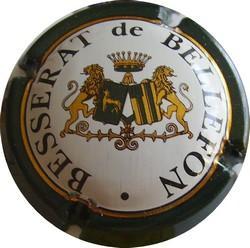 BESSERAT DE BELLEFON  écusson 3 barres (avec petits liseret)