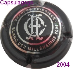 Cc 001 063 charles heidsieck millenaires 2004