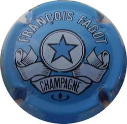 FAGOT François n°10  Bleu clair