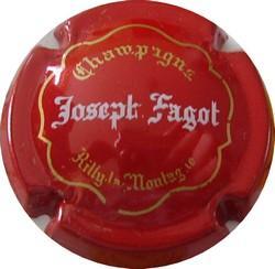 FAGOT Joseph n°10  Rouge (état voir zoom)
