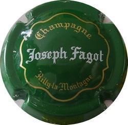 FAGOT Joseph n°11  vert  (état voir zoom)