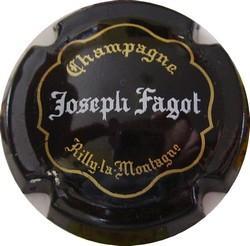 FAGOT Joseph n°12  noir