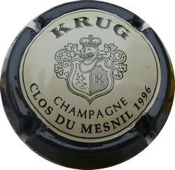 KRUG  Clos du Mesnil petit Ø 1996  n°52a