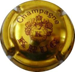 KRUG  grand Ø  Or et marron n°33