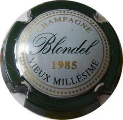 BLONDEL Vieux Millésime 1985