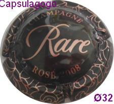 Cmill 000 192 piper heidsieck rare rose 2008