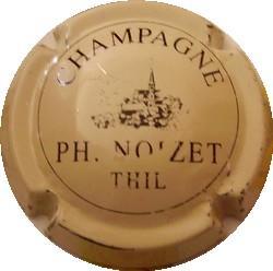 NOIZET Philippe  n°2  Crème et noir (état voir zoom)