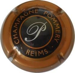 Ancienne POMMERY Cuivre  intérieur Gris-noir  n°59