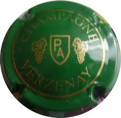 Ancienne PIERRE ARNOULD  vert n°2