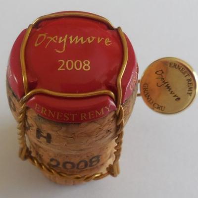 Ernest REMY Cuvée Oxymore 2008 (sur bouchon)