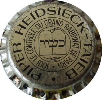Ancienne Capsule de dégorgement PIPER-HEIDSIECK  TAIEB