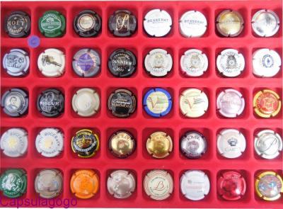 Lot de 40 Capsules toutes différentes (C)