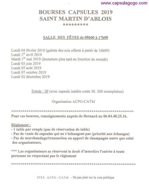 St martin d ablois 2019